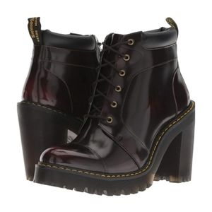 Dr. Martens Fashion Boots Cherry Red Size 8